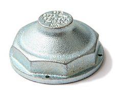 Überströmkappe / Blindkappe – für Einrohr-Gaszähler